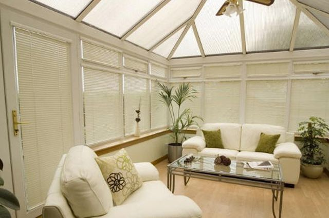 Conservatory blinds installed by our company